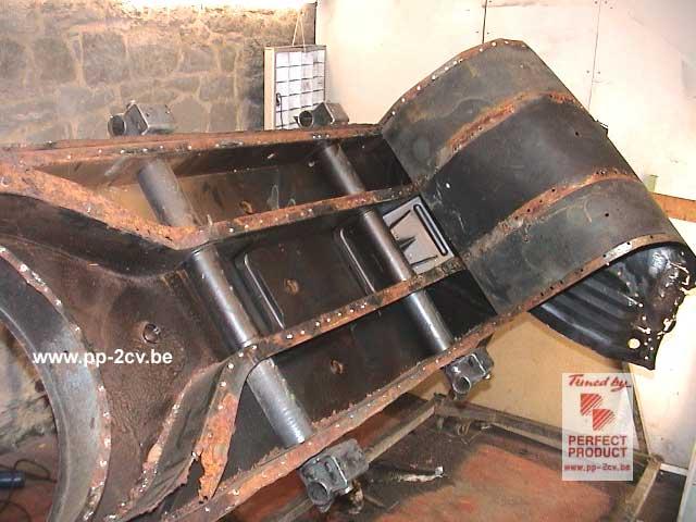 comment reparer un chassis de 2cv