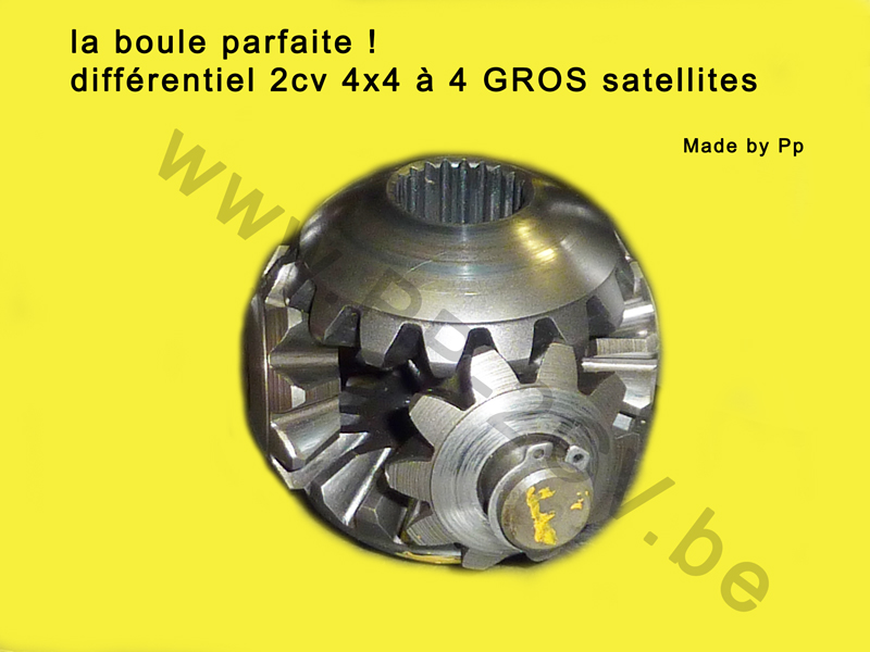 differentiel 4 satellites